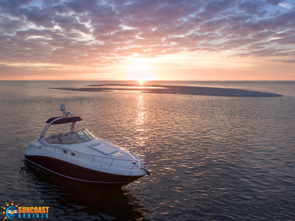 Drone Boat Yacht Pictures Videos Sarasota FL